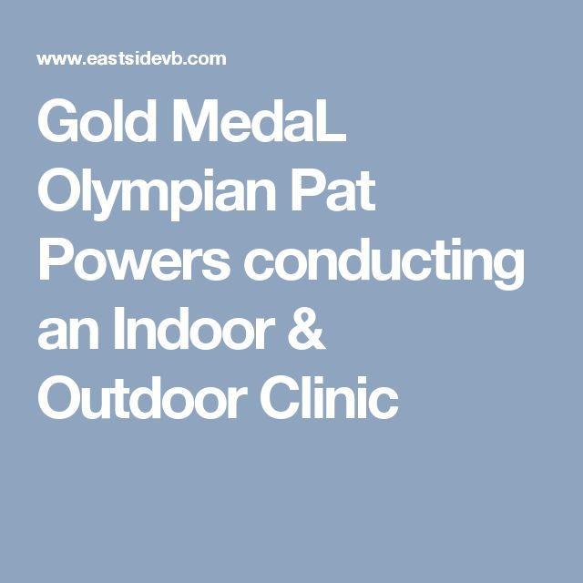 Gold MedaL Olympian Pat Powers conducting an Indoor & Outdoor Clinic