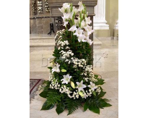 397 best igreja images on pinterest flower arrangements - Arreglos de flores para bodas ...