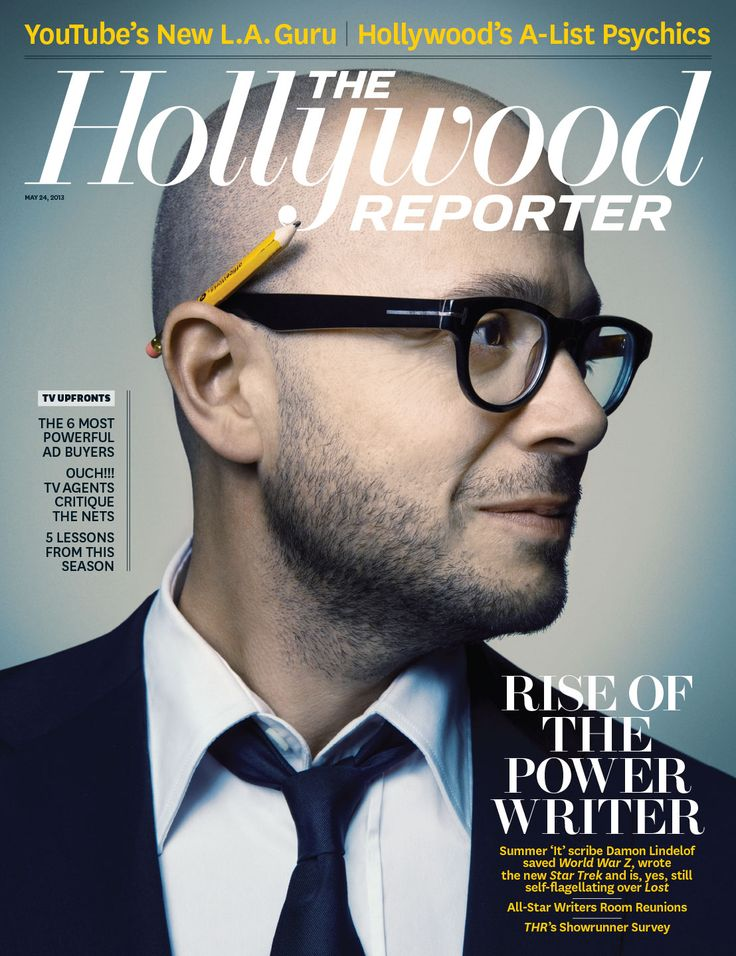 THR Cover: Star Treks Damon Lindelof on Brad Pitt, Having Power as a Writer and His Agony Over Lost