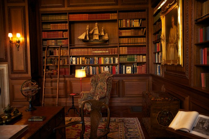 Beautiful Home Libraries antique library room design ideas with classical style and wooden