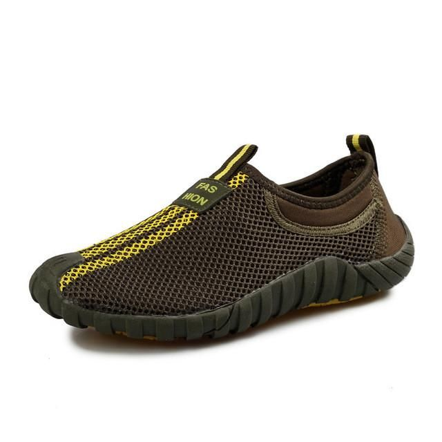 Tangnest Men's Mesh Flats 2017 New Lovers Shoes Breathable Network Platform Shoes Men Summer Loafers Size 35-44 XYP007 - Best price in 10minus