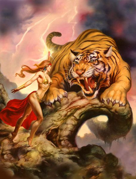 new boris vallejo and julie bell | Boris Vallejo & Julie Bell - The Ultimate Collection