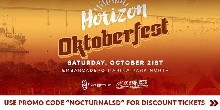"""HORIZON OKTOBERFEST 2017 DISCOUNT PROMO CODE TICKETS SAN DIEGO  USE PROMO CODE """"nocturnalsd""""  Event tickets   http://intothehorizon.com  HORIZON OKTOBERFEST LINEUP  Horizon Oktoberfest Lineup is listed here below with bio on each DJ. For more information you can go to the event homepage  here: http://intothehorizon.com/  Eventing info   https://nocturnalsd.com/event/horizon-oktoberfest-2017-discount-promo-code-tickets-san-diego/  Horizon Oktoberfest 2017 Discount Promo Code Tickets San Diego…"""