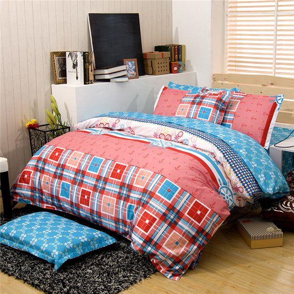 Размер двойной Одеяло Размер, пододеяльник + одеяло Наполнитель, 100% Полиэстер Gilrs Близнецы Наборы Постельных Принадлежностей, Твин Детей Простыней Стеганые