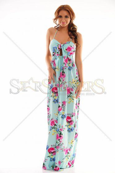 Serene Vision Blue Dress