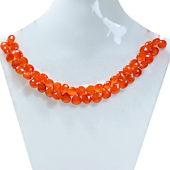 Carnelian Beads Strand Carnelian Gemstone Beads by ExploreBeads