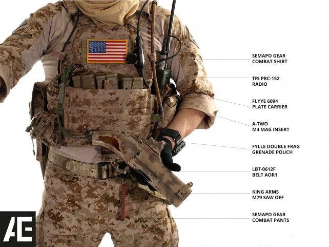 Navy Seal Gear Kitlist 2013