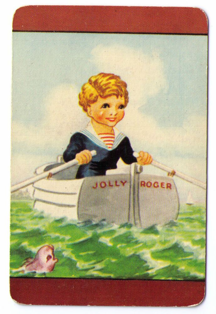 SWAP / PLAYING CARDS COLES UN-NAMED SERIES - CHILDREN & TOYS - JOLLY ROGER $5.99 start of bidding