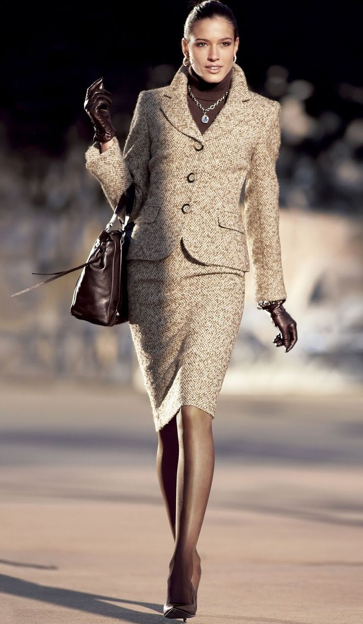 Yes, I have to do this. I have a very similar tweed. classy tweed suit