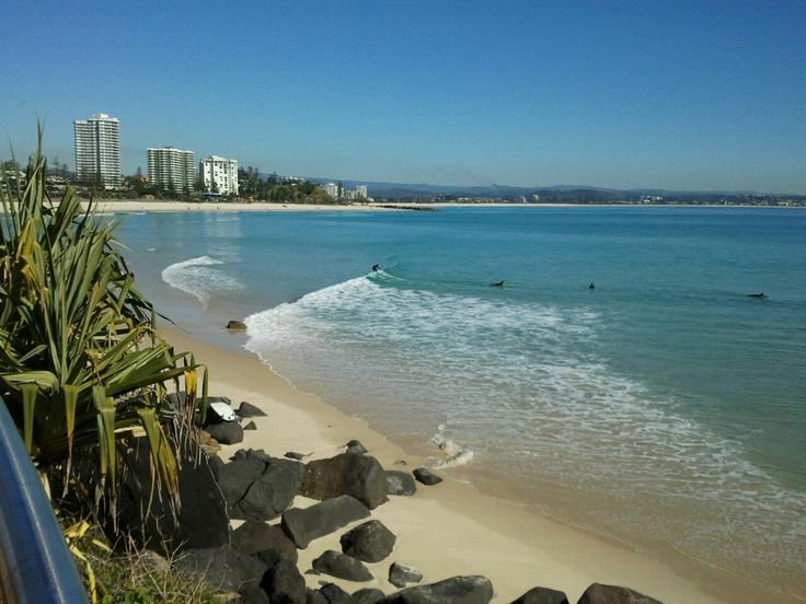 Greenmount Beach. Gold Coast. Australia