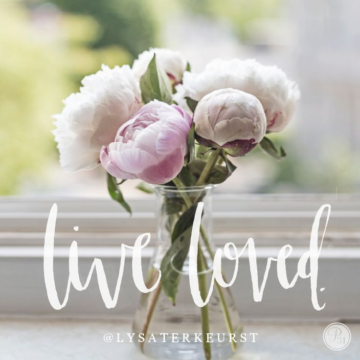 God is okay with me even when I'm not okay with me. His love isn't based on me. It's simply placed on me. And it's the place from which I must live.   Live loved beautiful friend. | Lysa TerKeurst