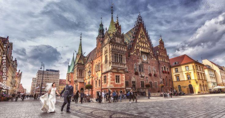 #Wrocław to Wyjątkowo piękne miasto dziś #ZdjęciaSłomińskiego z Wrocławia - Fotografia ślubna - www.fotoslominski.pl