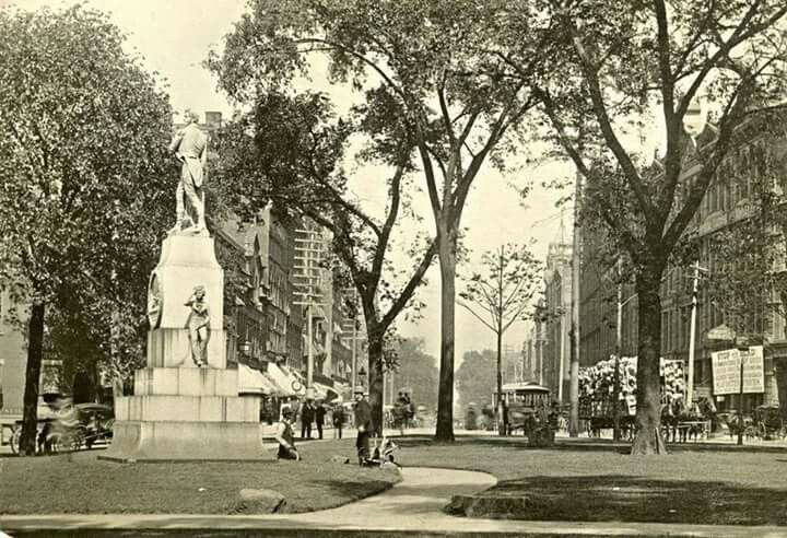 Public Square, 1855   Cleveland Ohio   Cleveland, Ohio   Pinterest   Public square, Cleveland and Ohio
