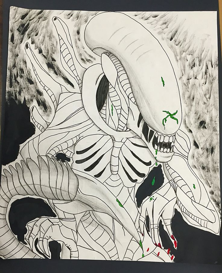 Xenomorph  By:DerickPaws