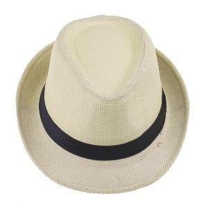 CHAPEAU Vogue été Chapeau de Paille Panama Fedora Hat Homm
