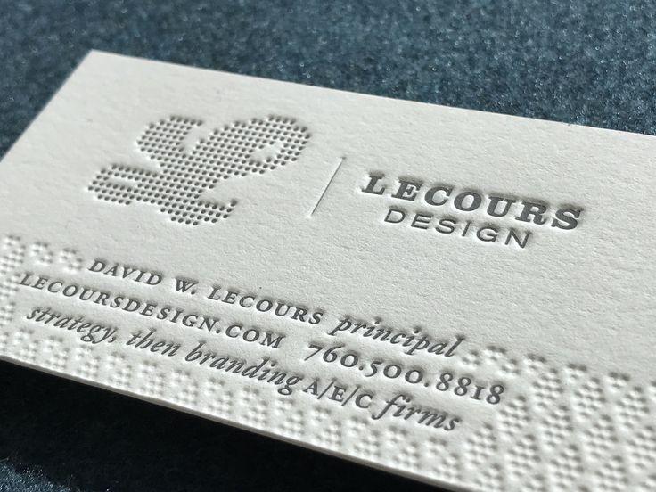 Best 25+ Letterpress business cards ideas on Pinterest Embossed - letterpress business card