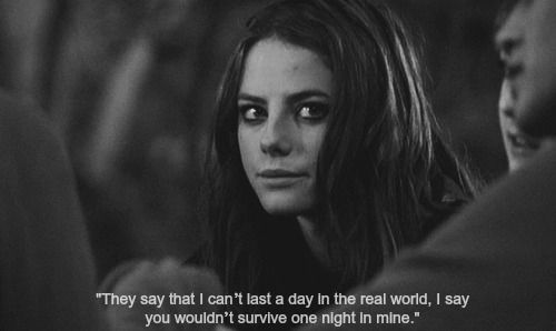 True yet sad quote from the TV character Effy Stonem
