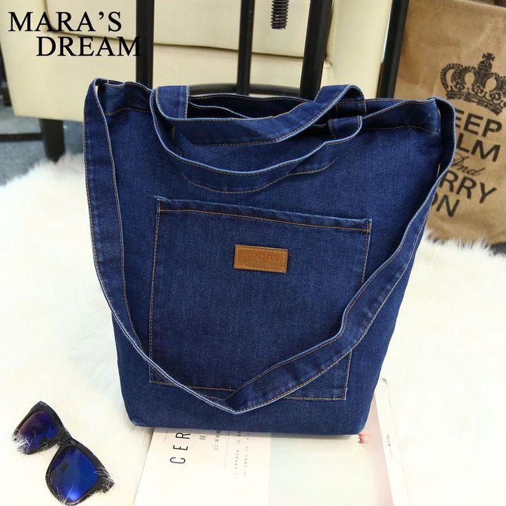 Mara s Dream New Women Messenger Bags Denim Shoulder Bag Handbags Shoulder Bag For Girls Casual. Click visit to buy