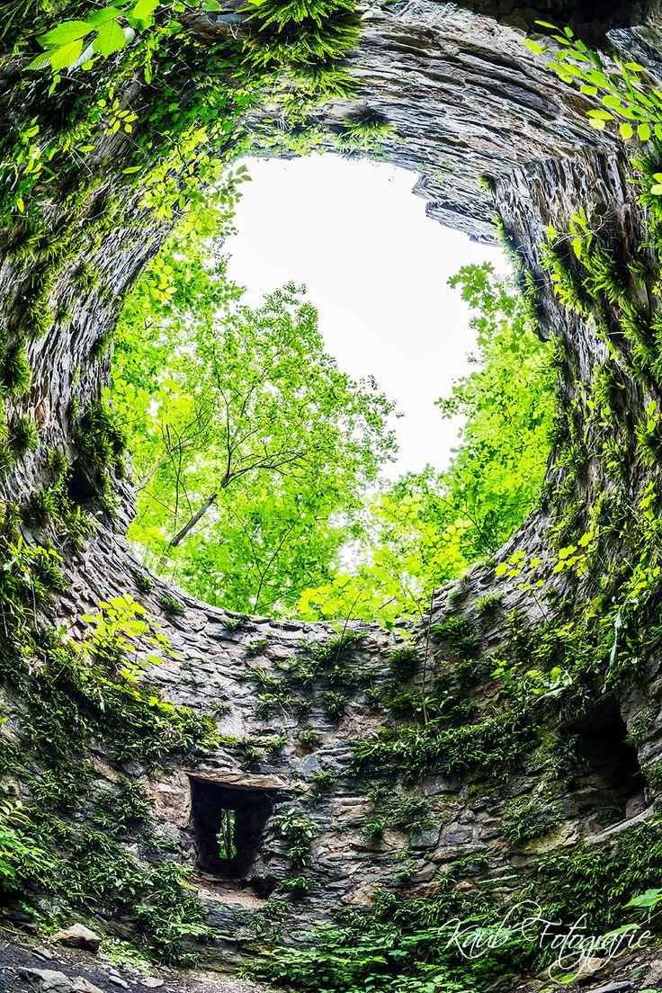 Ruine Schwarzenberg, Sauerland, Landscape, Germany