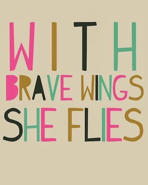 I love this quote. Comment and like as one of the first brave things this year ;)