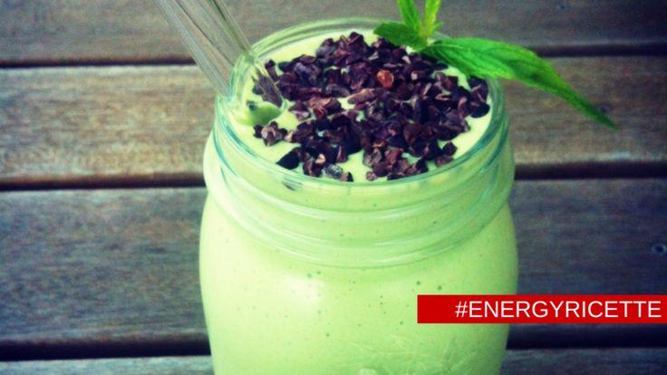 Frullato menta e cioccolato - #energyricette