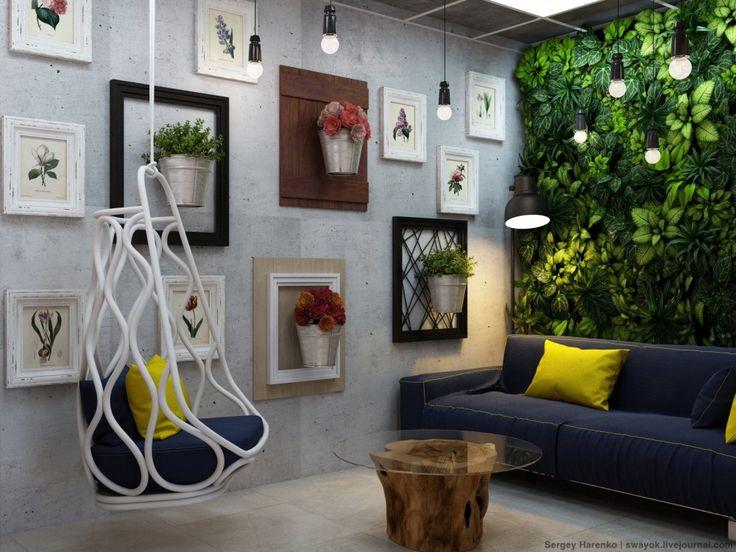 Цветочный магазин - Интерьер как он есть