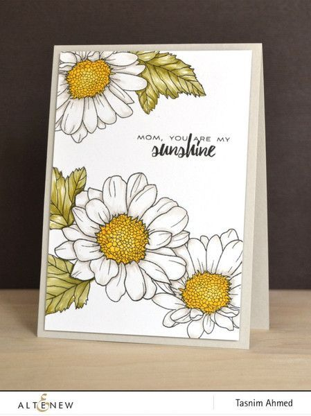 *NEW* Altenew Stamps - Spring Daisy