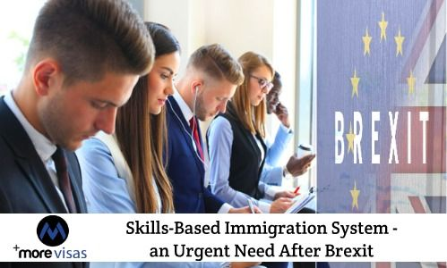 Skills-Based Immigration System - an Urgent need After Brexit. Read more... https://goo.gl/4E4qY6 #MoreVisas #UKVisa #UKSkillsBasedImmigration #UKImmigration #WorkInUK #SkilledWorkerVisa #Brexit https://www.morevisas.com/immigration-news-article/skills-based-immigration-system-an-urgent-need-after-brexit/5536/