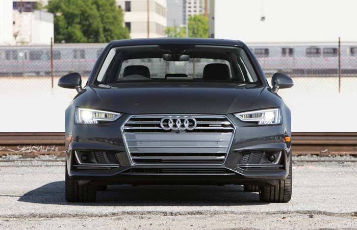 2018 Audi A4 overview