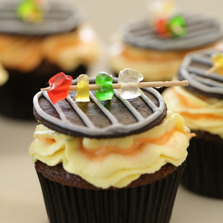 Fire up your oven for this sweet treat! Serve these grill cupcakes at your next cookout or bbq party.