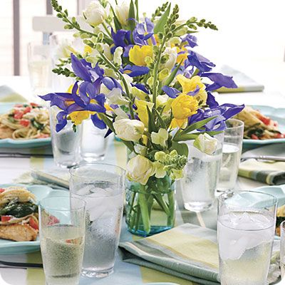 Easter Flower Table Decorations