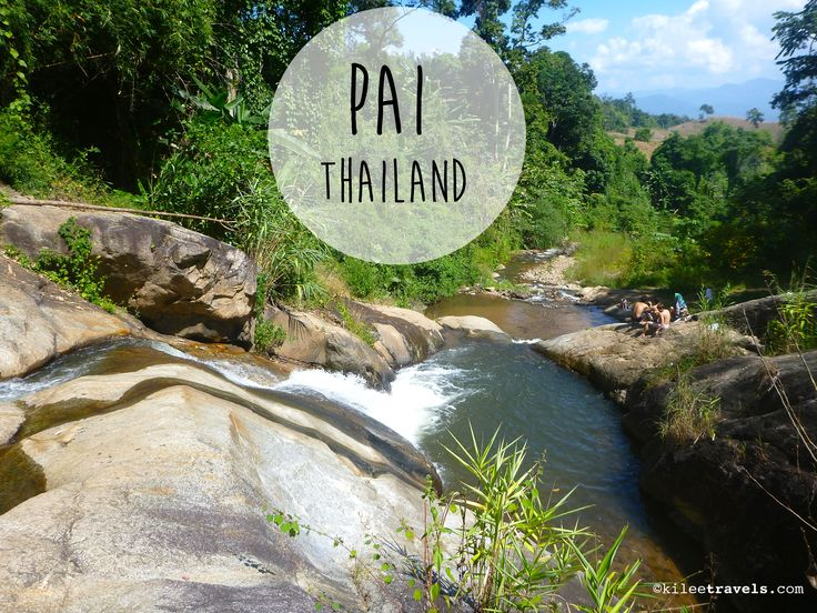 Pai, Thailand. November 2014 Have to go back and explore more ....