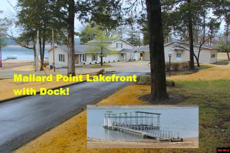 ONE OF THE FEW TRUE LAKEFRONT HOMES on Norfork Lake. Newer steel dock has pontoon sized slip & solar power with boat lift, cost approx 60k. Open floor plan with bamboo flooring, newer kitchen. Newer foam insulation. Enjoy beautiful sunsets and main lake frontage in Mountain Home AR
