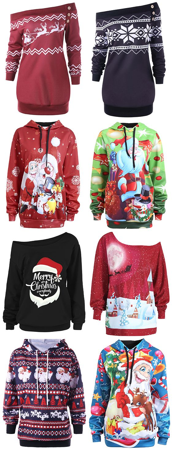 50%OFF Christmas hoodies