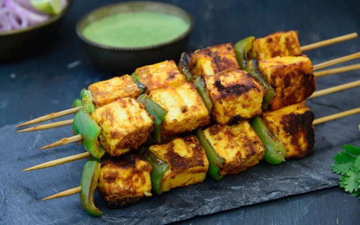 Achari Paneer Tikka is the most popular vegetarian appetizer in the Punjabi Cuisine. The word achar in Hindi means pickle.