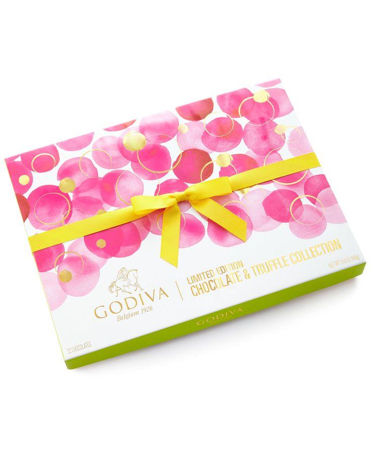 Godiva chocolatier 32piece spring gift box godiva