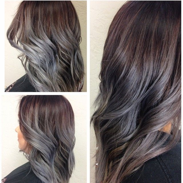 colorful hair styles best 25 grey brown hair ideas on ash grey 2257