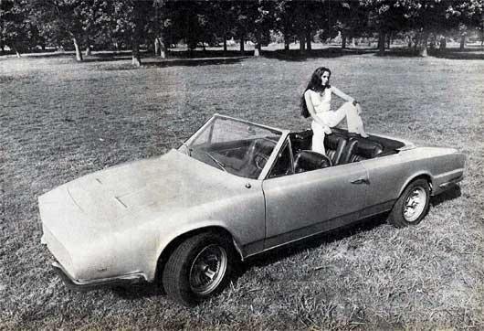 1973 - Torino Pronello Convertible Del convertible de Pronello se escuchaba hablar hace mucho tiempo. Varios años ya. Y vimos dibujos, maquetas, moldes de plástico y diversos ensayos del inquieto constructor. Hasta que hace dos semanas lo vimos finalmente terminado. Ahí está, en las fotos, listo para ser mirado desde todos los ángulos. Con su trompa perfilada, su hardtop de plástico y la capota oculta, su tapizado de cuero auténtico color guinda y mil detalles menores que dan la pauta del…