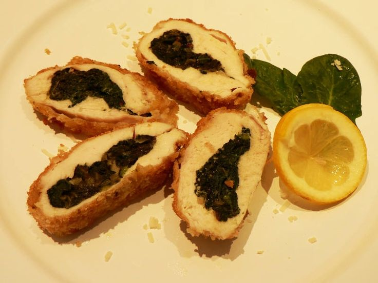Petti di Pollo Ripieno di Spinaci makes for a stylish main course for a dinner party. Don't be discouraged by the several stages involved in the preparation. The dish can be made ahead giving…