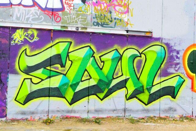 Grafitti wall,  De Vasim Nijmegen