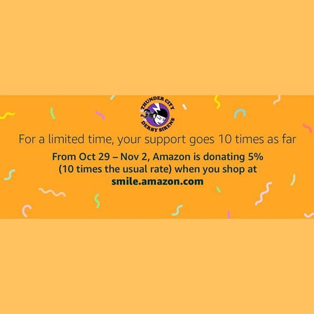 Through Tomorrow Amazonsmile Is Donating 5 Ten Times The Usual