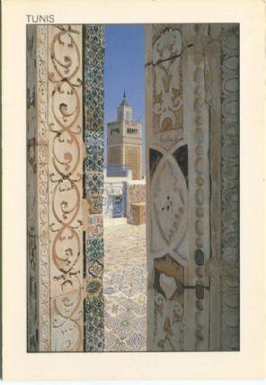 Tunisie Lumiere Postcard, Tunis, Le Minaret encadre, 265