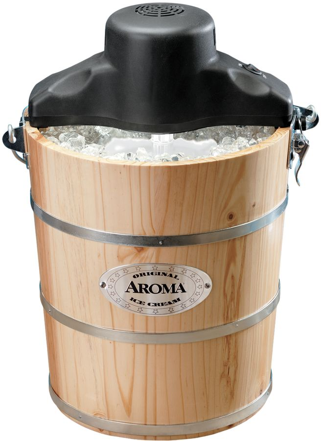 Aroma Die Cast Ice Cream Maker