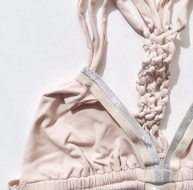   Gorgeous Basics, with #handwoven details   #Entreaguas #Woven #Beachwear