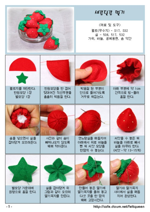 strawberry diy