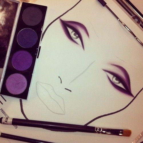 Purples look great with every skin tone and every eye color.  When in doubt go w the purple!  www.facebook.com/Zabellarouge