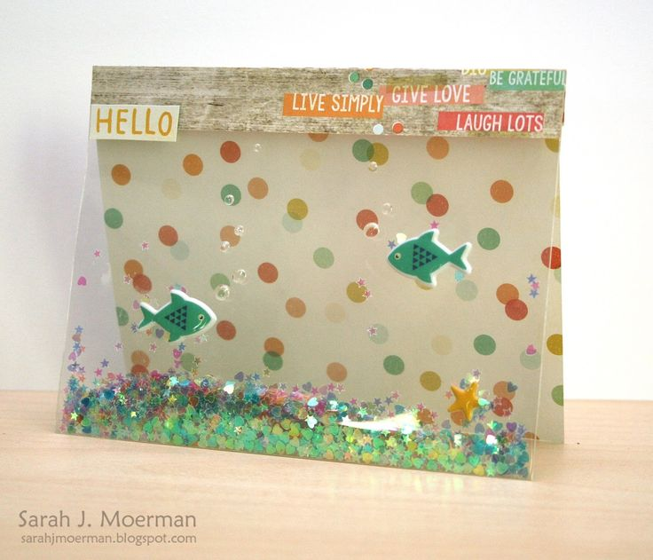 Adore this card created by Sarah Moerman using the August 2015 card kit by Simon Says Stamp.