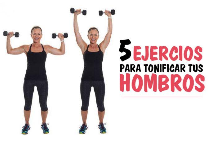 ¡Los mejores ejercicios para tonificar tus hombros!