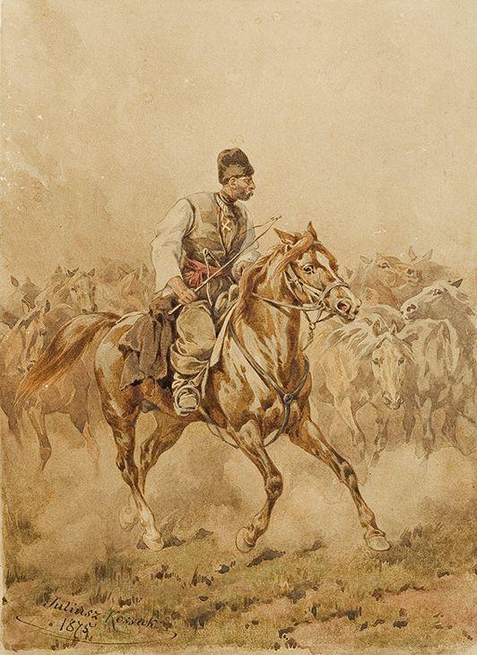 Juliusz Kossak TABUŃCZYK, 1875