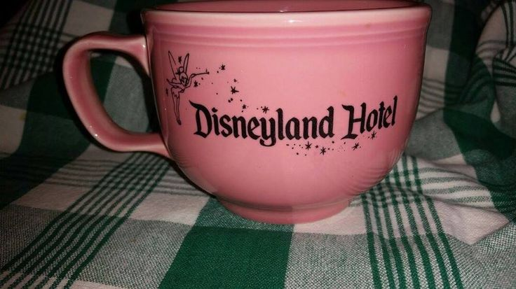 Rose Fiesta® Dinnerware Disneyland Hotel Stromboli's Jumbo Mug. Made by Homer Laughlin China Company | eBay